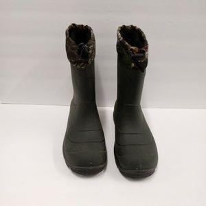 Kamik Waterproof Snow Rain Boots W/Felt Insert 9